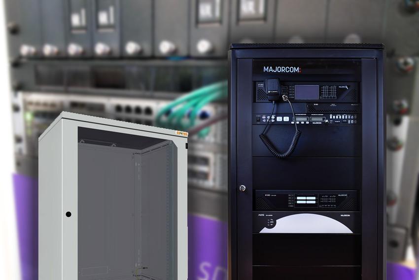 """Tous les racks 19"""" Majorcom et e-Boxx pour vos projets d'installation et d'intégration"""