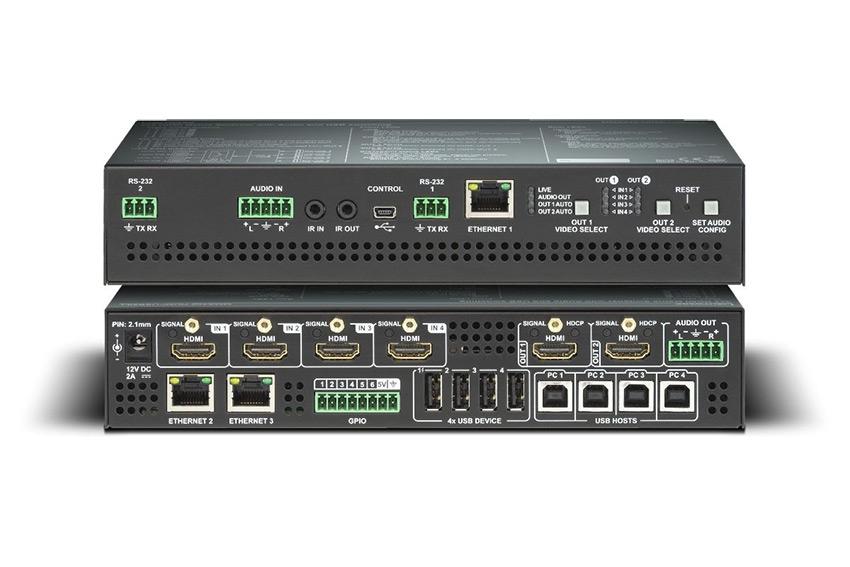 Découvrez le switcher Lightware 4x2 HDMI & USB pour petites salles de réunion