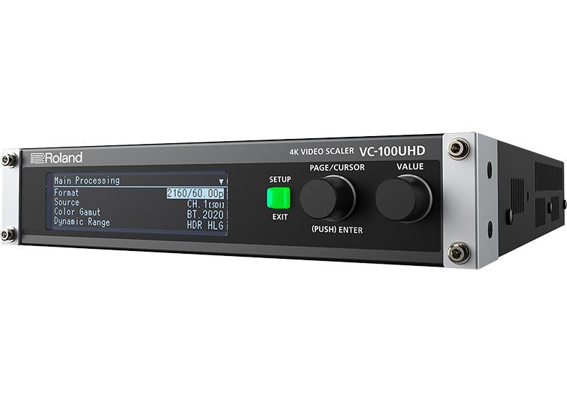 Roland VC-100UHD : un puissant processeur vidéo multi-fonctions