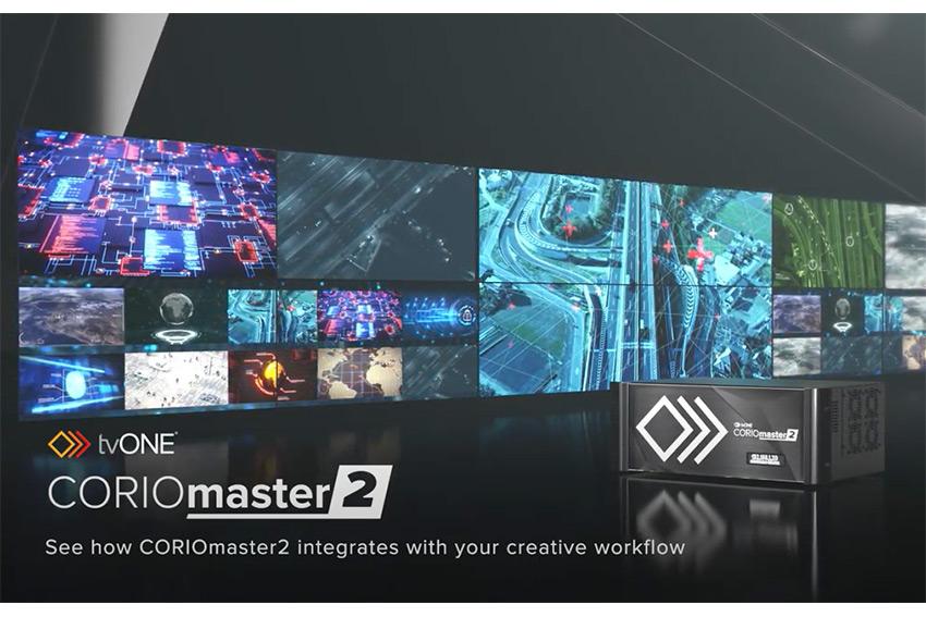 Processeur tvONE CORIOmaster2 : un traitement vidéo de très haut niveau