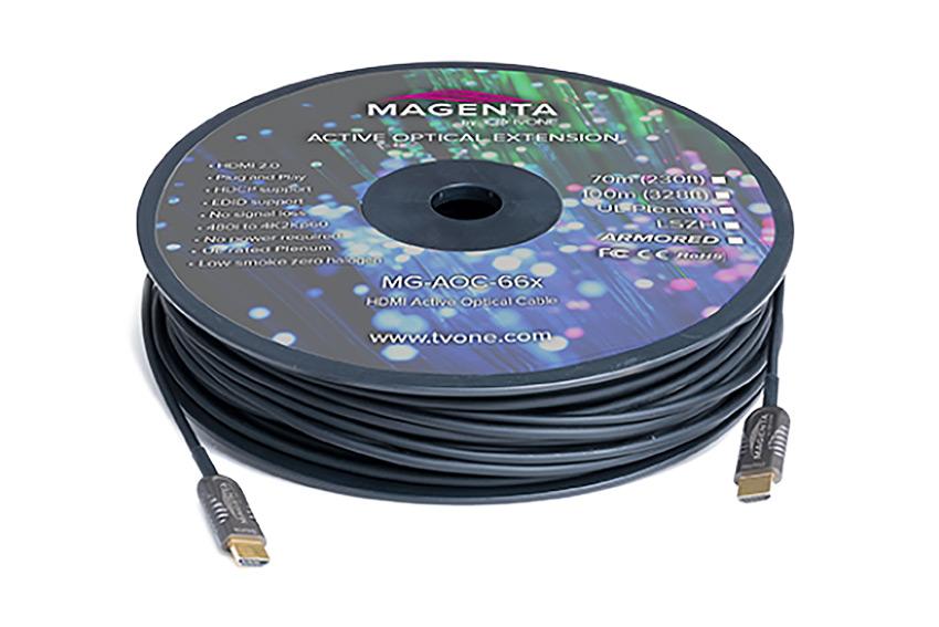 Trois cordons Magenta HDMI & DisplayPort hyper résistants pour les environnements critiques