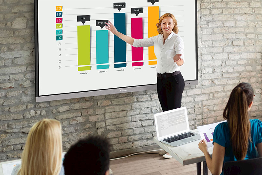 Gamme Optoma Creative Touch Série 5 : de grands écrans tactiles interactifs superbement équipés