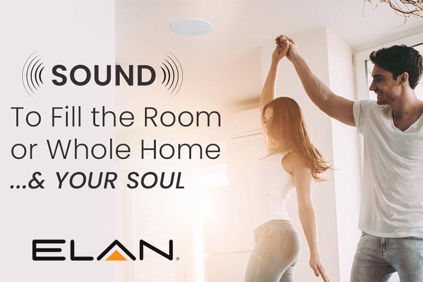Remplissez votre maison de musique avec les amplificateurs multizones et les enceintes encastrables Elan
