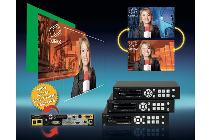 CORIO 2 : une gamme de trois scalers multi formats chez tvONE