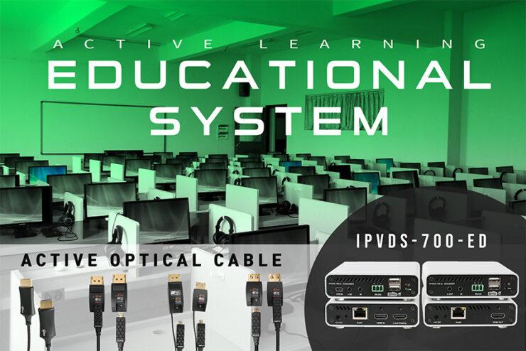 Opticis IPVDS : du KVM sur IP pour matricer source et écrans jusqu'aux murs d'images