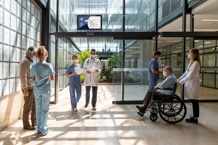 les solutions d'affichage ProDVX pour le médical adaptées aux contraintes actuelles