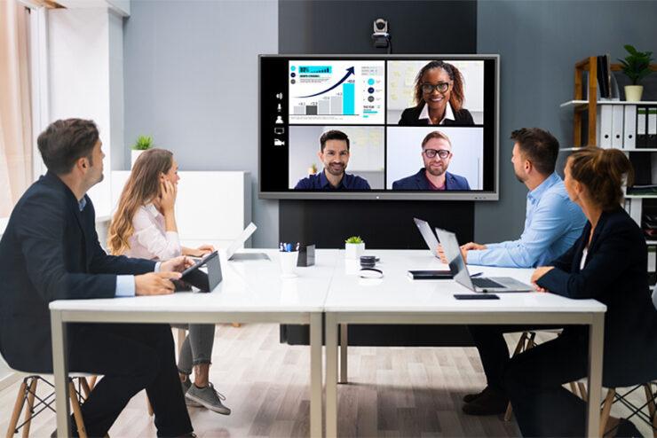 Les réunions en présentiel sans contact grâce aux solutions Vivitek NovoConnect