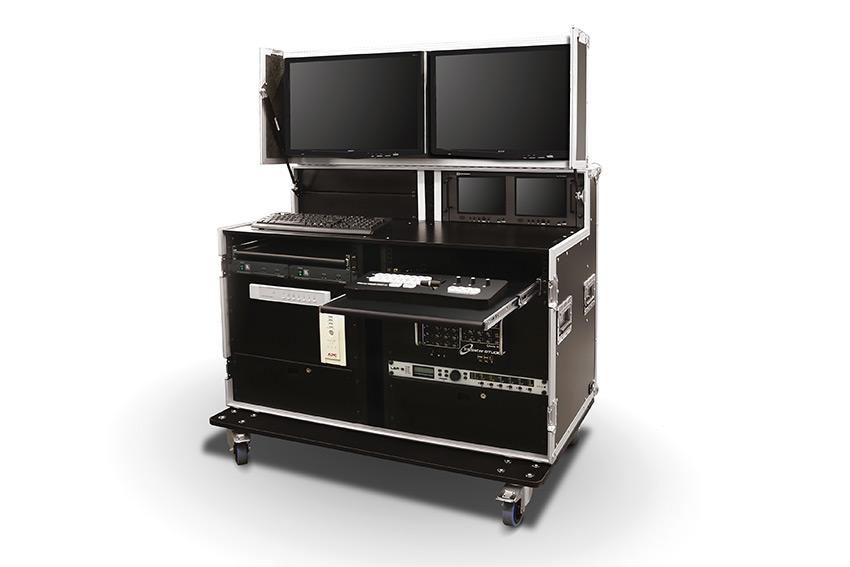 """Des studios complets avec rack 19"""" en flightcase chez Audipack"""
