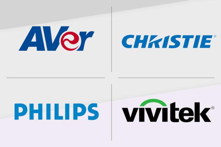 AVer, Christie, Philips et Vivitek : 4 marques phares distribuées par EAVS Groupe