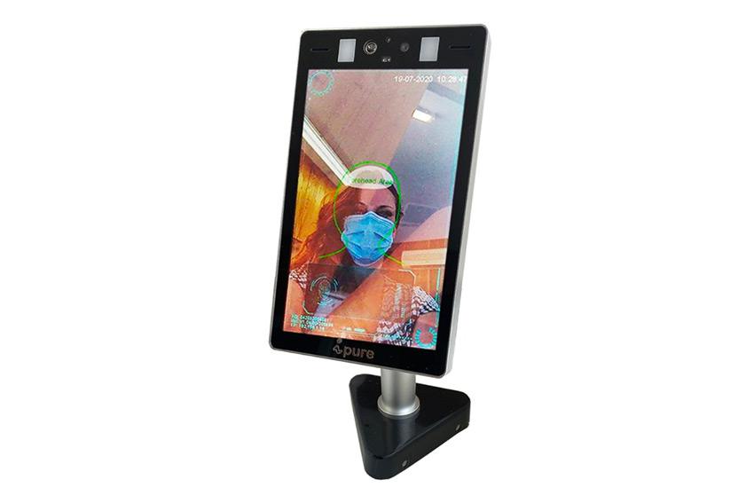 """iPure Portic 8"""" : un terminal de prise de température intelligent aux multiples modes de fixation"""