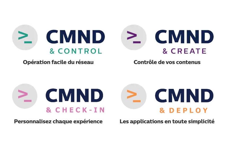 Les 4 piliers de la plateforme CMND pour le pilotage de tous les moniteurs Philips Professional