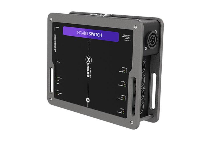 Theatrixx XVVNETSW : Un switch Gigabit robuste pour la location et les installations temporaires