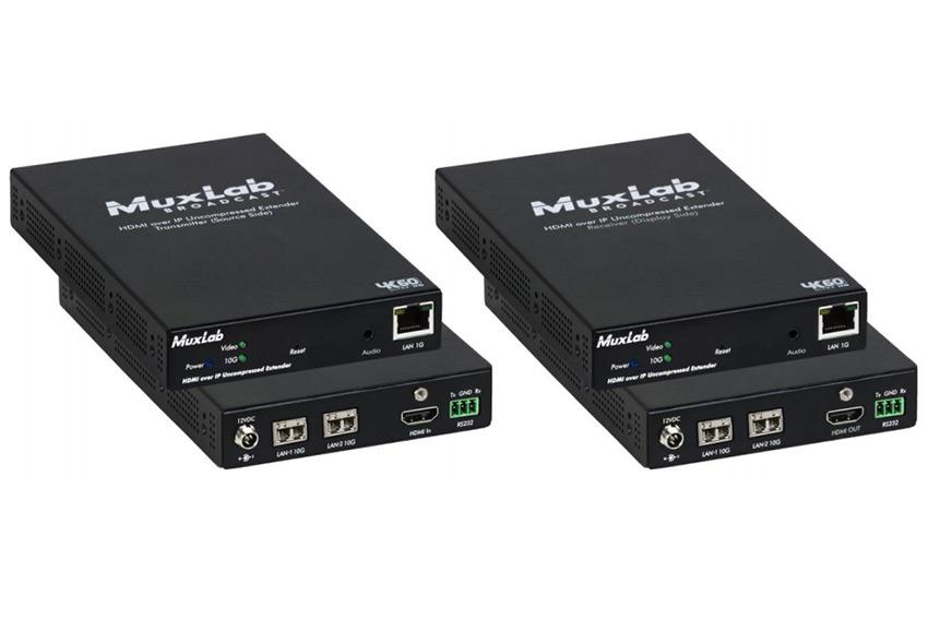 MuxLab 500774 : des extenders sur IP en ST-2110 avec redondance réseau