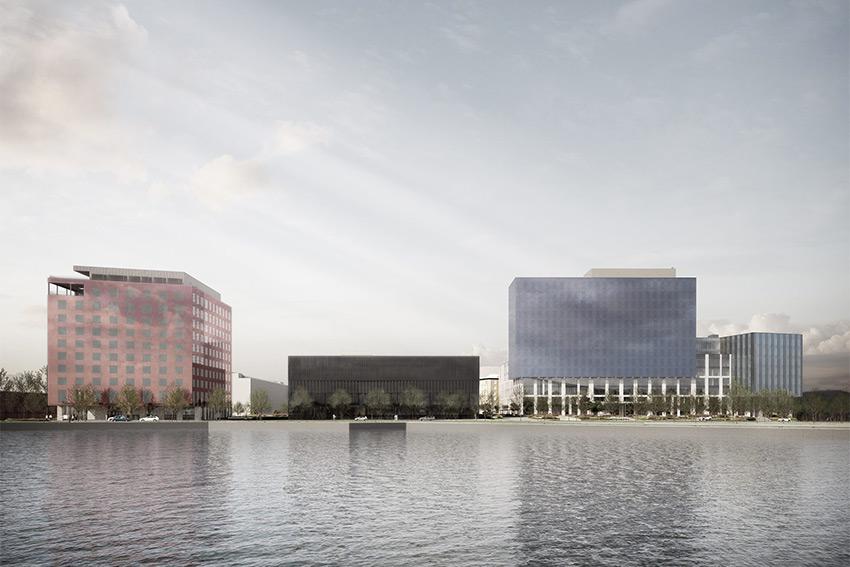 Le campus de Geely en Suède a fait appel à la solution Vivitek NovoDS pour l'affichage dynamique