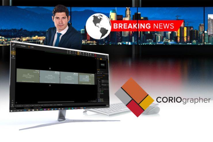 Les dernières nouveautés de CORIOgrapher pour les processeurs vidéo CORIOview, CORIOmaster et CORIOmaster2