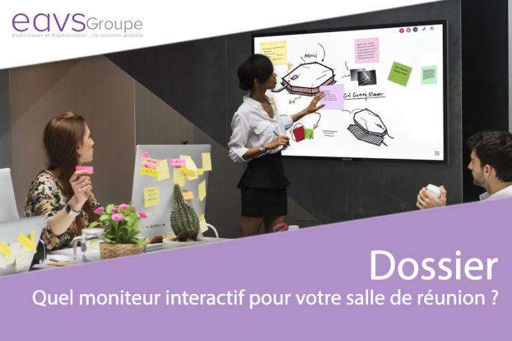 Comment choisir le meilleur moniteur interactif pour votre salle de réunion ?