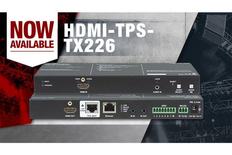 Lightware TPS-HDMI-TX226 : un extender HDMI avec alimentation intégrée pour le récepteur