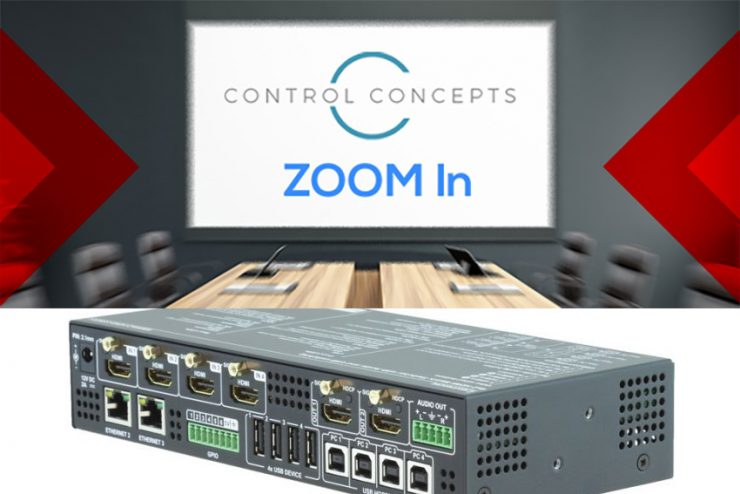 Comment intégrer le contrôle Lightware dans Zoom ?