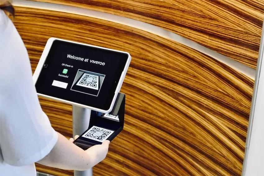 Kiosque iPad Viveroo One : le point d'orgue de tout hall d'accueil