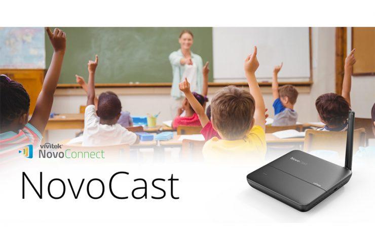Vivitek Novocast : le mini hub collaboratif dédié à l'éducation