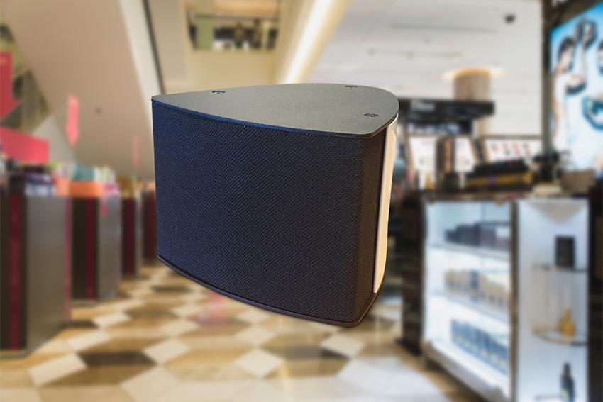 Audipack Target : mini enceintes de sonorisation pour les commerces et les entreprises