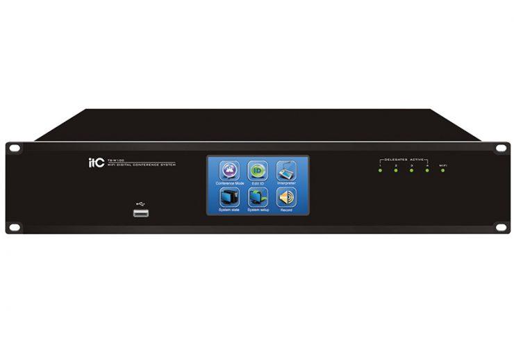 itC TS-W100 : les contrôleurs de conférence numériques WiFi et Dante