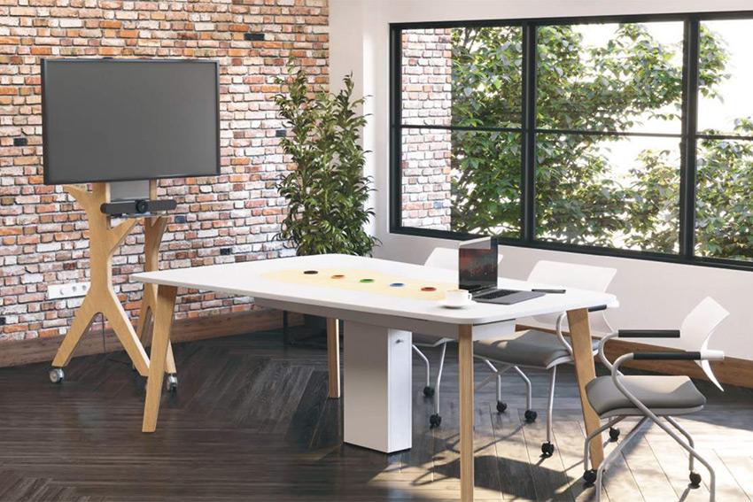 Kamo Origami : la gamme de mobilier organique pour des espaces de travail qui sortent de l'ordinaire