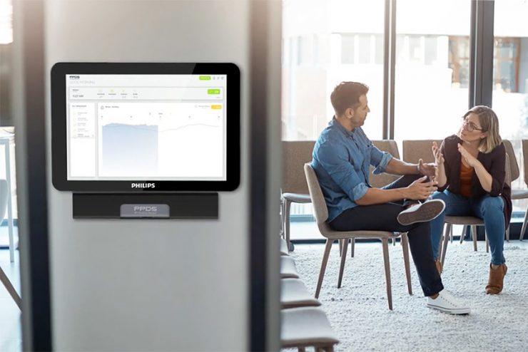 Philips Professional Display Solutions dévoile un capteur de qualité de l'air pour ses moniteurs
