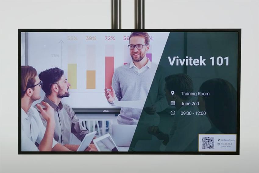 Découvrez la configuration des écrans Vivitek NovoDisplay en vidéo