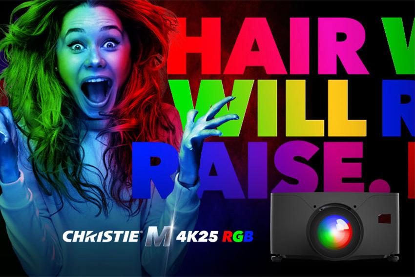 Le nouveau vidéoprojecteur Christie M est encore plus lumineux, plus éclatant et plus défini