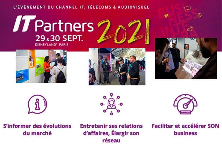 Venez rencontrer EAVS Groupe au salon IT Partners les 29 et 30 septembre 2021