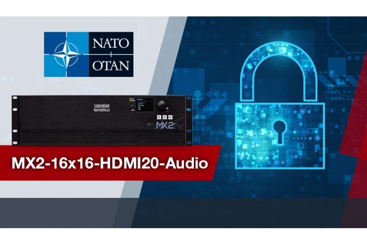Lightware renforce son leadership grâce à ses produits certifiés par l'OTAN et par Cisco