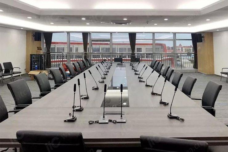 Les systèmes de conférence itC sont utilisés dans le monde entier