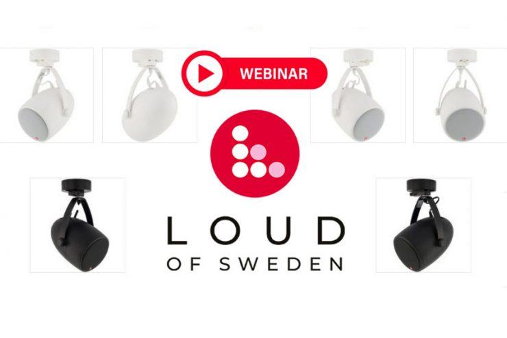 Ne ratez pas la prochaine formation en ligne Loud of Sweden