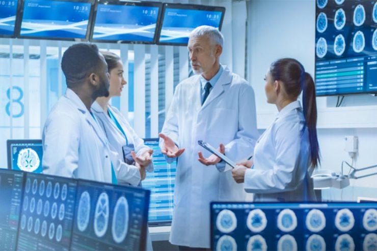 Les processeurs de multi-fenêtrage tvONE dans les milieux hospitaliers